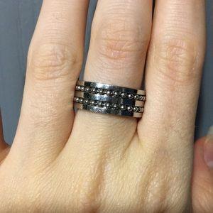 Stainless Steel Fidget Ring